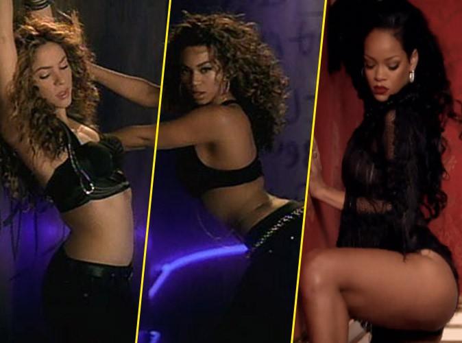 Vidéos : Shakira : ses clips avec Rihanna et Beyoncé regorgent de similitudes... Lequel est votre préféré ?