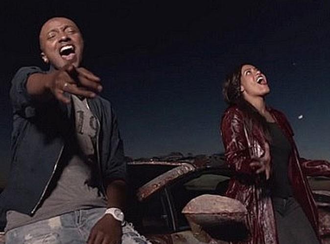 """Vidéo : Amel Bent et Soprano : hors la loi en cavale dans le clip de """"Quand la musique est bonne"""" !"""