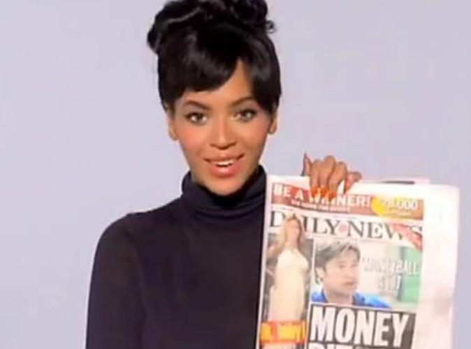 Vidéo : Beyoncé répond elle-même aux rumeurs sur sa grossesse ! Hilarant !