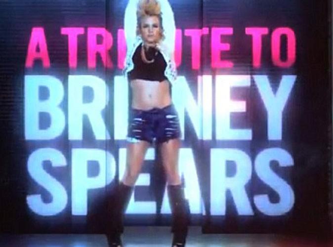 Vidéo : Britney Spears rend hommage à Michael Jackson et Madonna !