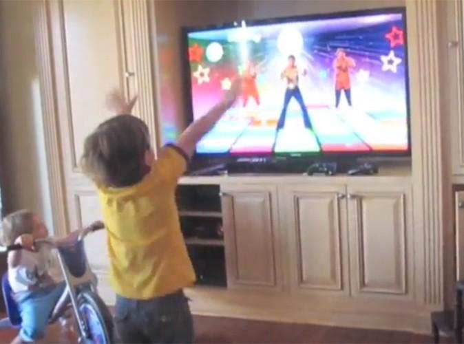 Vidéo : Britney Spears : son fils Preston, aussi bon danseur qu'elle ?!
