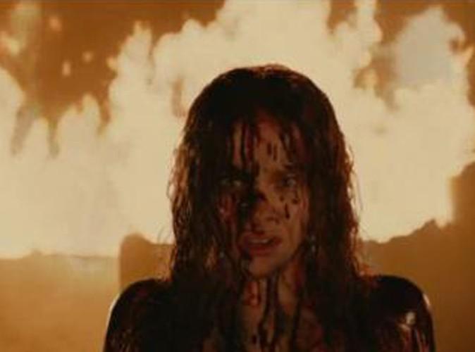 Vidéo : Chloë Moretz : sanglante dans la première bande-annonce du remake de Carrie !