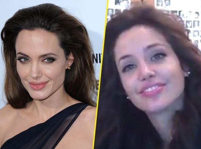 Vidéo : découvrez l'incroyable sosie d'Angelina Jolie !