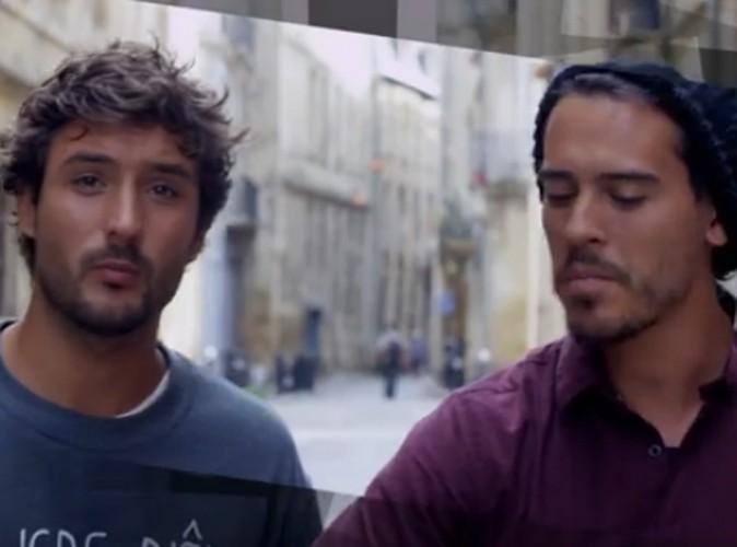 """Vidéo : Fréro Delavega : suivez le très charmant duo à Bordeaux pour le clip de """"Mon petit pays"""" !"""