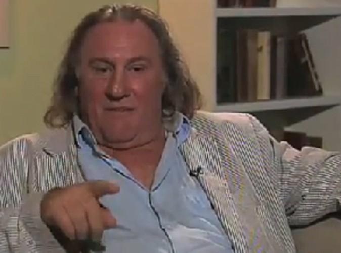 Vidéo : Gérard Depardieu : il fait marrer tout le monde avec l'incident de l'avion !