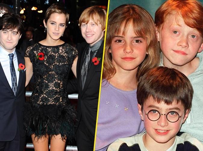 Vidéo : Harry Potter : Daniel Radcliffe, Emma Watson et Rupert Grint ont 12 ans...