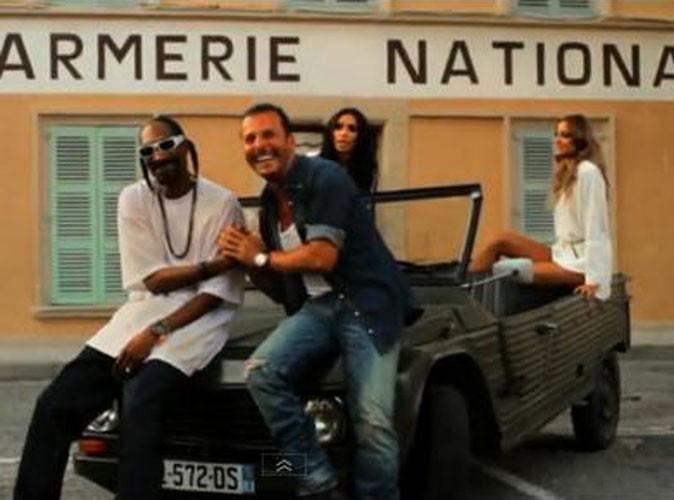Vidéo : Jean Roch : son clip très Saint-Tropez avec Snoop Dogg et Karl Lagerfeld !