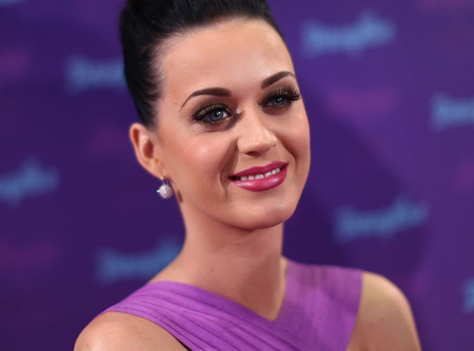Vidéo : Katy Perry en schtroumpfette, ou presque !