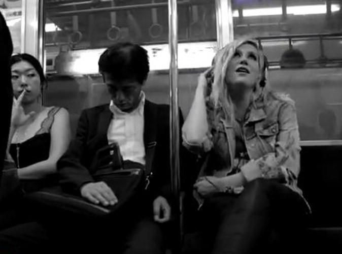 Vidéo : Kesha : elle dévoile un extrait de son nouveau single dans le métro japonais !