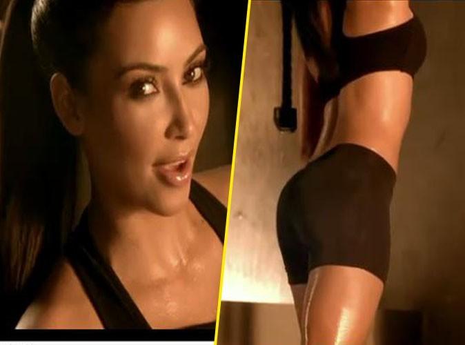 Vidéo : Kim Kardashian super sexy et bien dans ses baskets !