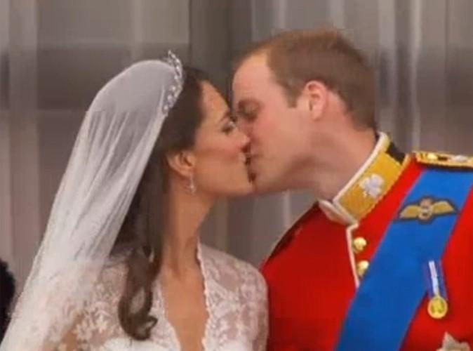 Vidéo : Le baiser de Kate et William à revoir encore et encore !