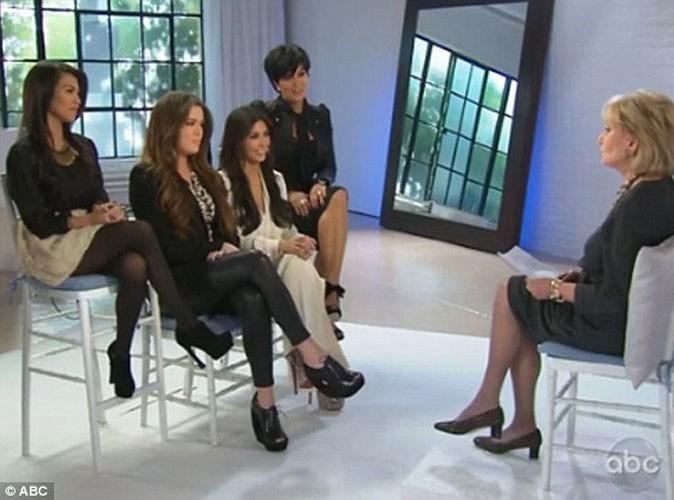 Vidéo : Les soeurs Kardashian n'ont aucun talent... Et c'est l'incontournable Barbara Walters qui le dit !