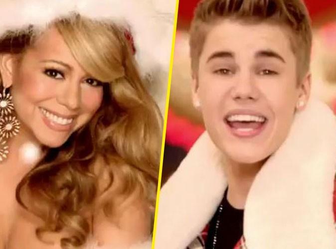 Vidéo : Mariah Carey et Justin Bieber dévoilent leur clip de Noël un peu hot !