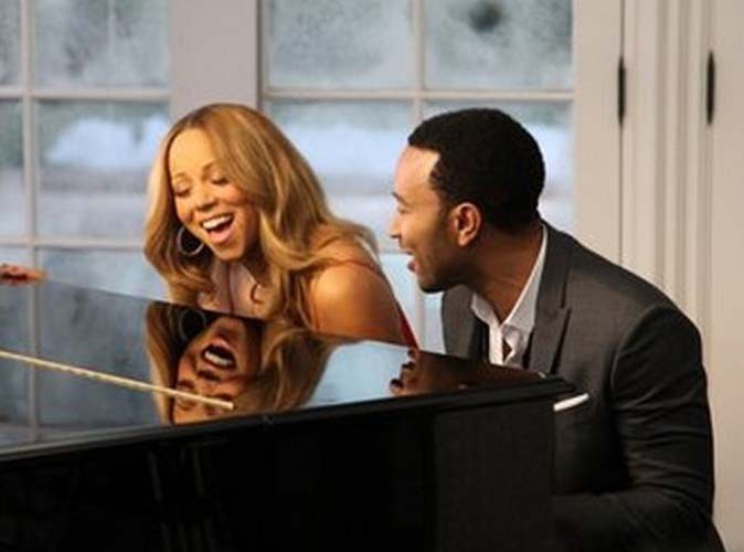 Vidéo : Mariah Carey : le clip de son duo de Noël avec John Legend !