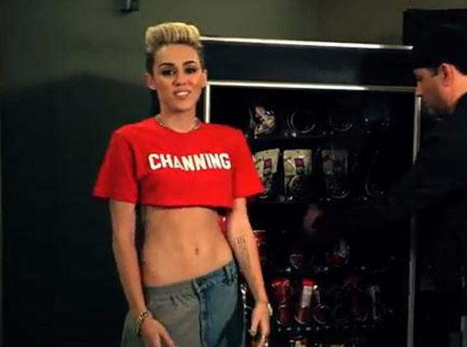 Vidéo : Miley Cyrus : elle déclare sa flamme à Channing Tatum dans un clip parodique !