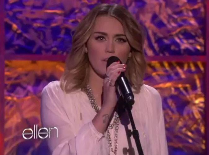 Vidéo : Miley Cyrus reprend un tube de Bob Dylan !