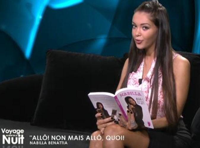"""Vidéo : Nabilla : découvrez l'intégralité de sa prestation dans l'émission littéraire """"Voyage au bout de la nuit"""" !"""