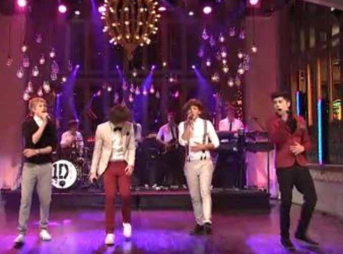Vidéo : One Direction : les Anglais impressionnent une fois de plus sur un plateau américain !