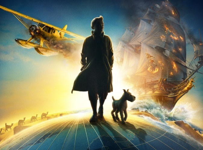 Vidéo : Tintin au cinéma, la bande-annonce !