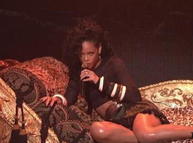Vidéos : Rihanna : entre chorégraphies envoutantes et danse sexy, elle a charmé la télé US !