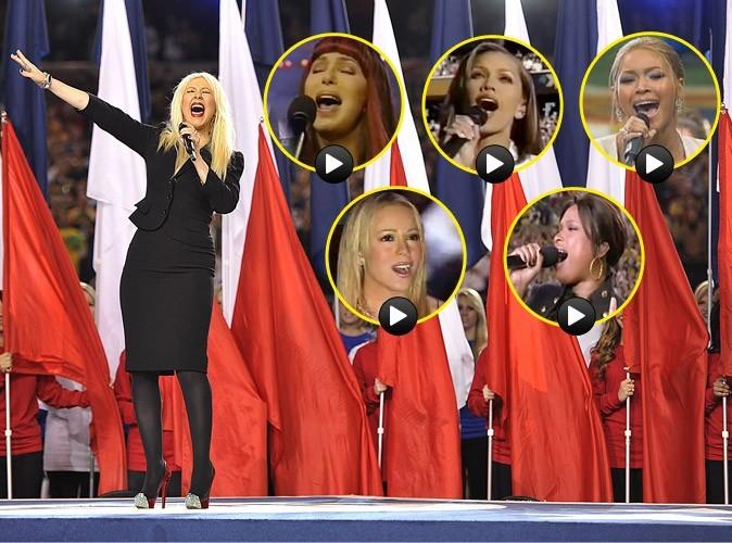 Vidéos : Superbowl : celles qui ont fait bien mieux que Christina Aguilera !