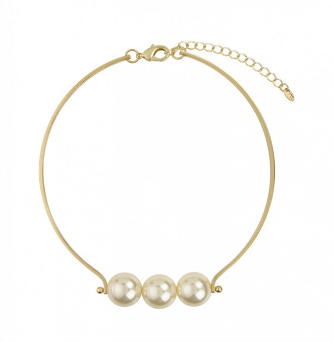 Collier perles, Marks & Spencer 18 €