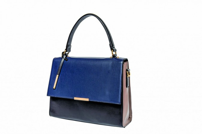 Sac cartable tricolore, Lafayette Collection 64 €