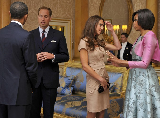 William et Kate accueillent Barack et Michelle Obama !