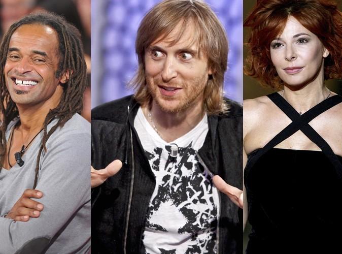 Yannick Noah, David Guetta et Mylène Farmer : artistes français les mieux payés en 2010 !
