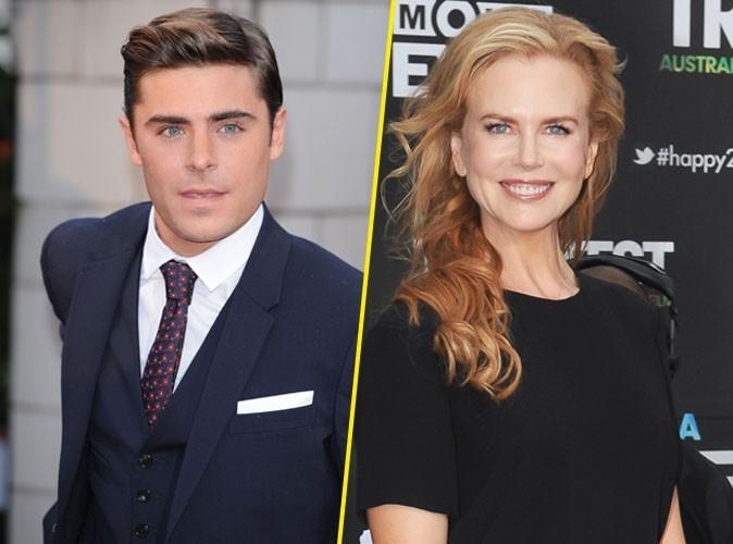 Zac Efron complètement sous le charme de Nicole Kidman après leur scène de sexe à l'écran !