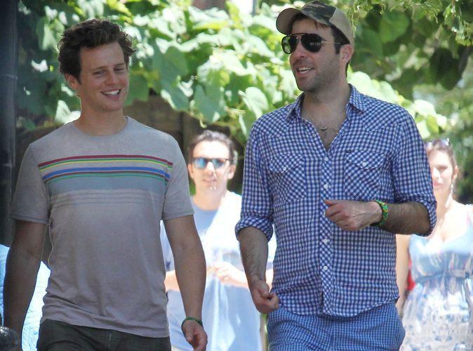 Zachary Quinto : c'est fini avec son boyfriend Jonathan Groff !