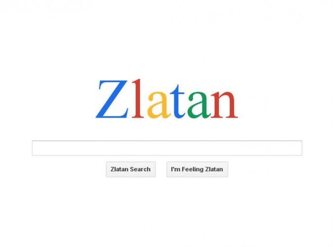 Zlatan Ibrahimovic : Il a zlatané Google !