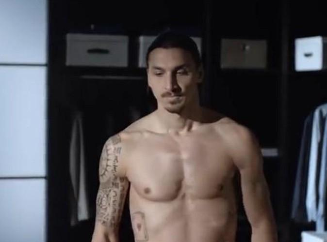 Zlatan Ibrahimovic : la Zlatanmania continue ! Le footballeur joue les tombeurs torse nu pour Nivea Men !