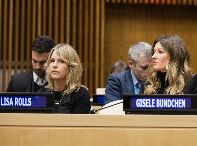 Photos : Gisele Bundchen : divine ambassadrice pour l'environnement à l'ONU