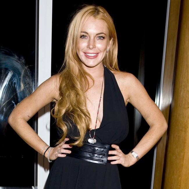Lindsay Lohan à la soirée du magazine Purple, le 11 septembre 2013 à New York
