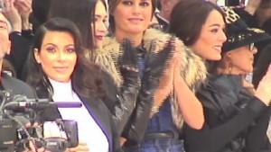 Kim Kardashian  VS Sofia Essaïdi : au défilé de Stéphane Rolland !