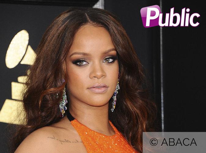 Grammy Awards 2017 : Rihanna fait le buzz avec sa flasque d'alcool !