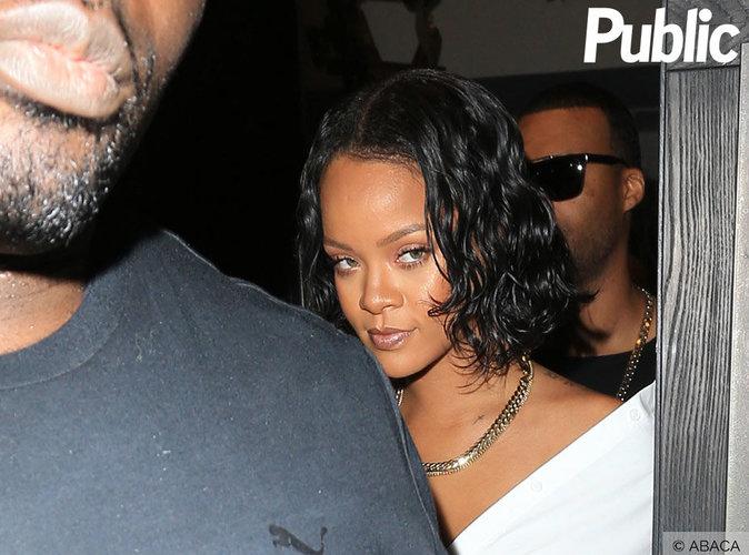 Le boydguard de Rihanna s'en prend à un paparazzi !