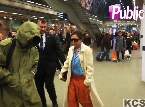 Victoria et David Beckham : ils se suivent toujours de loin !
