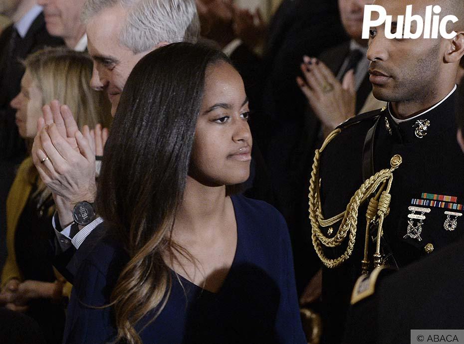 Malia Obama félicitée par Halle Berry