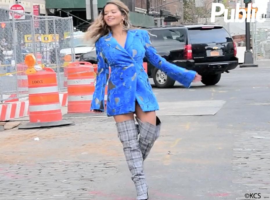 Rita Ora : le tournage de son dernier clip so sexy en images !