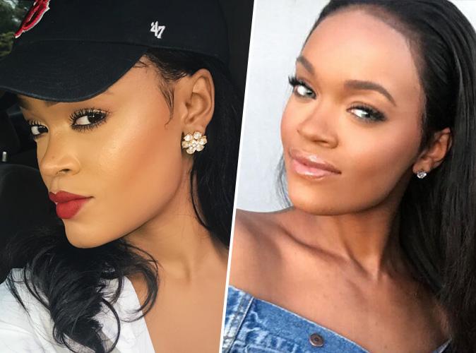 Andele Lara : Les internautes viennent d'élire cette blogueuse beauté sosie officiel de Rihanna