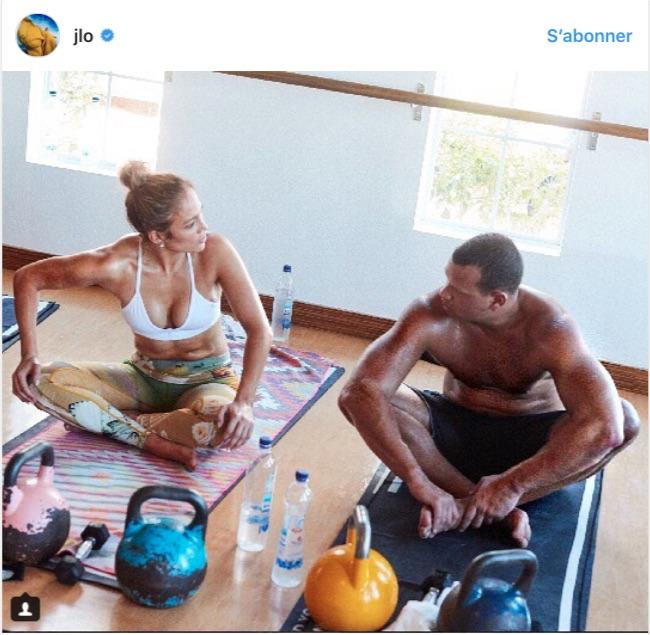 Jennifer Lopez et Alex Rodriguez : Le résultat de leur séance de sport en duo est spectaculaire !