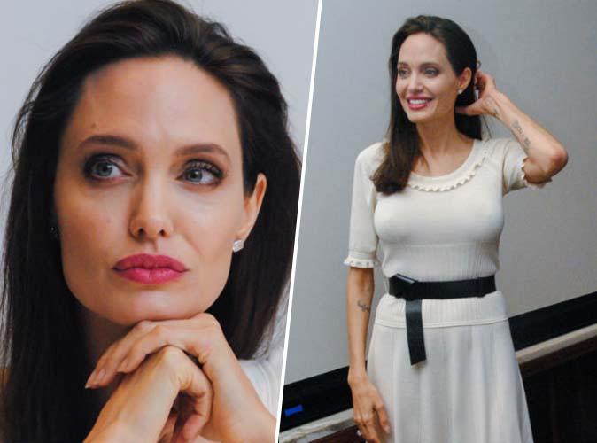 Photos  : Angelina Jolie a espoir que Brad Pitt