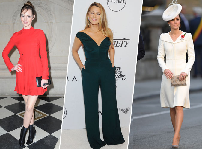 Blake Lively, Louise Bourgoin, Kate Middleton... Ces stars qui font plus d'1,75m !