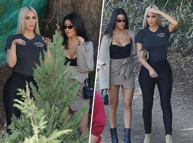 Kim et Kourtney Kardashian : encore une dure journée de boulot !