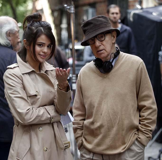 Selena Gomez a commencé le tournage du film de Woody Allen !
