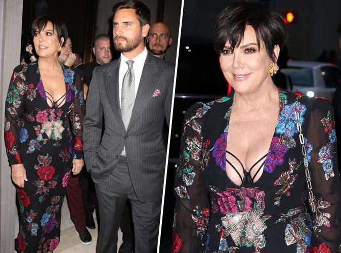 ultra sexy, Kris Jenner s'affiche au bras de son ex-beau-fils Scott Disick